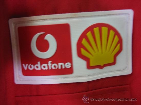 Coleccionismo deportivo: Camisa de Ferrari, Michael Schumacher.De hombro a hombro 58 cm - Foto 4 - 38615735