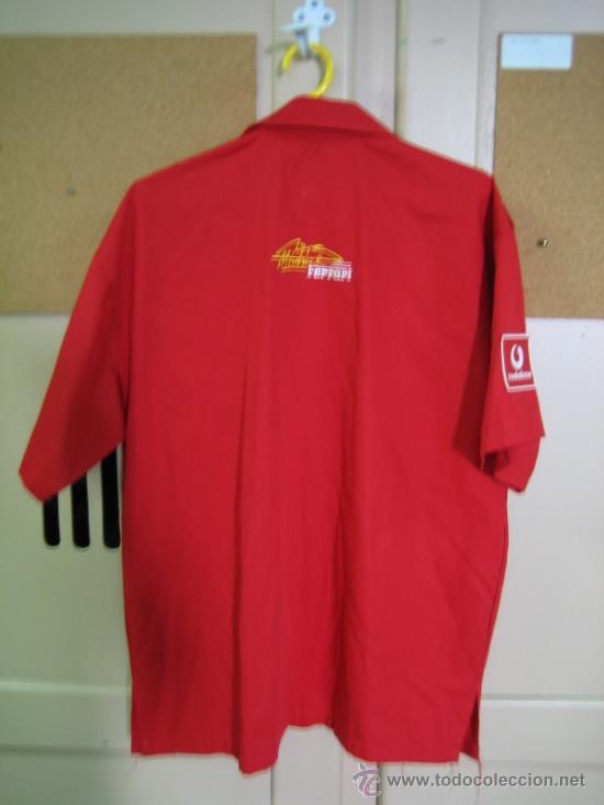 Coleccionismo deportivo: Camisa de Ferrari, Michael Schumacher.De hombro a hombro 58 cm - Foto 6 - 38615735