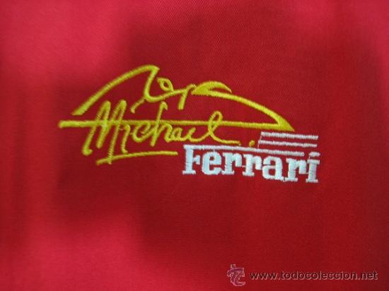 Coleccionismo deportivo: Camisa de Ferrari, Michael Schumacher.De hombro a hombro 58 cm - Foto 7 - 38615735