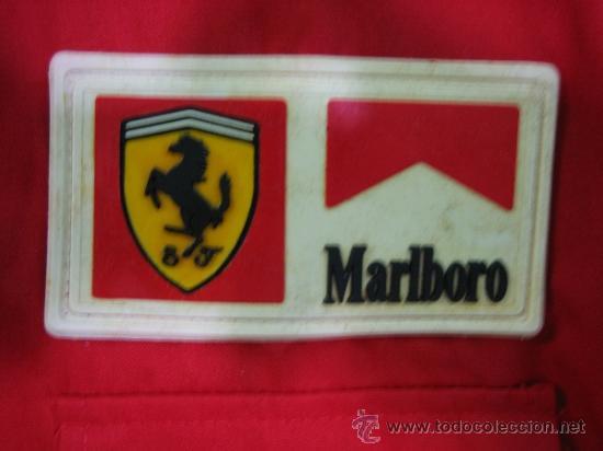 Coleccionismo deportivo: Camisa de Ferrari, Michael Schumacher.De hombro a hombro 58 cm - Foto 8 - 38615735