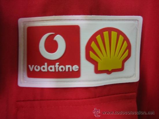 Coleccionismo deportivo: Camisa de Ferrari, Michael Schumacher.De hombro a hombro 58 cm - Foto 9 - 38615735