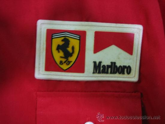 Coleccionismo deportivo: Camisa de Ferrari, Michael Schumacher.De hombro a hombro 58 cm - Foto 10 - 38615735