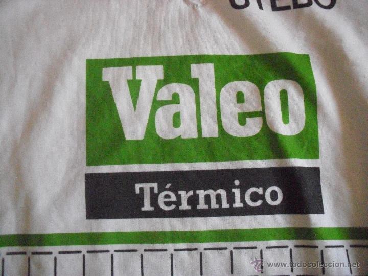 Coleccionismo deportivo: MAILLOT CICLISTA VALEO C.C UTEBO, Manga corta - Foto 2 - 39374152