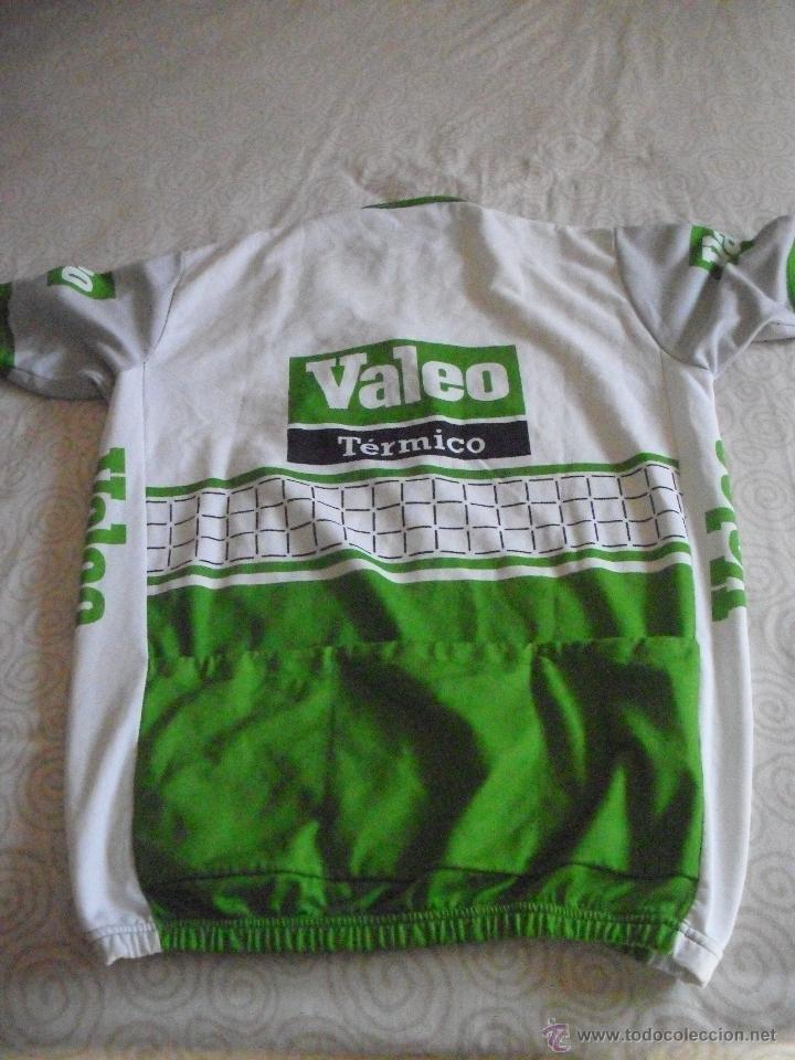 Coleccionismo deportivo: MAILLOT CICLISTA VALEO C.C UTEBO, Manga corta - Foto 4 - 39374152