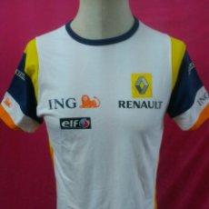 Coleccionismo deportivo: CAMISETA ORIGINAL ING RENAULT FORMULA 1 TEAM. ELF. 100% ALGODON. TALLA S. Lote 40172063