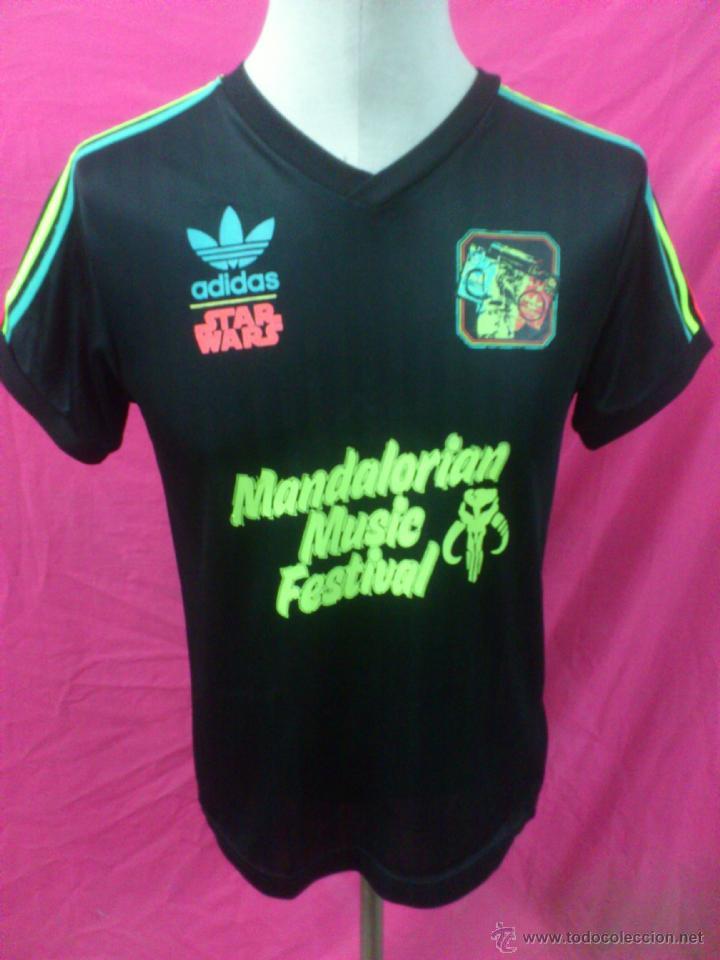 desinfectante apodo Hacer la cama  camiseta original adidas star wars bobafet ma - Sold through Direct Sale -  40482707