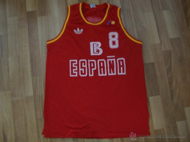 Ciencias Intestinos mármol  Camiseta baloncesto seleccion española adidas b - Sold through Direct Sale  - 42982768