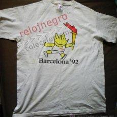 Coleccionismo deportivo: CAMISETA DE COBI ANTORCHA JJOO BARCELONA 92 JUEGOS OLÍMPICOS ESPAÑA - MASCOTA MARISCAL DEPORTE 1992. Lote 43865421