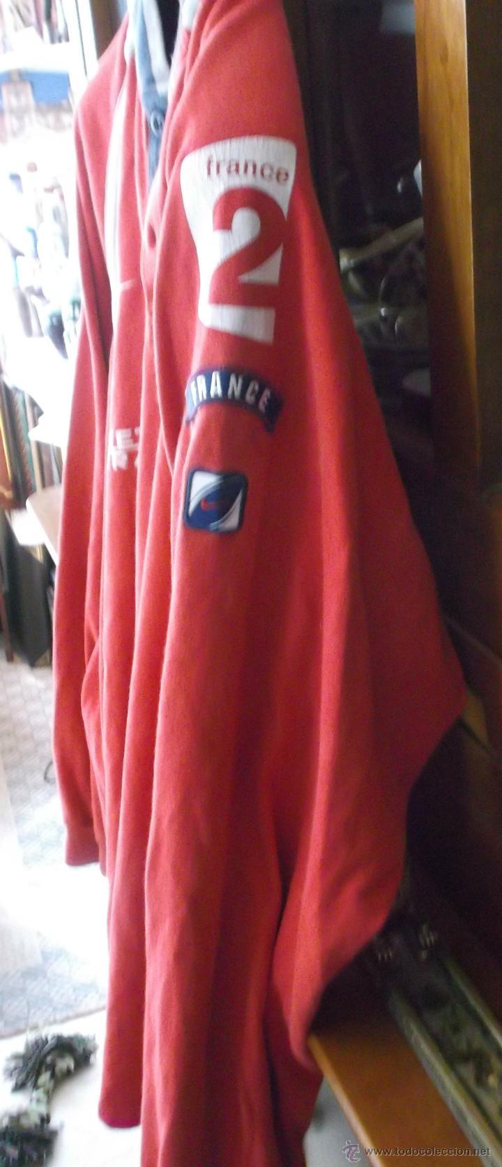 Coleccionismo deportivo: camiseta manga larga original de la seleccion francesa de rugby talla grande - Foto 3 - 45672380
