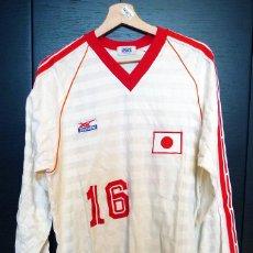 Coleccionismo deportivo: CAMISETA PORTERO BALONMANO SELECCIÓN JAPONESA. ASICS. TALLA 4.. Lote 49063663