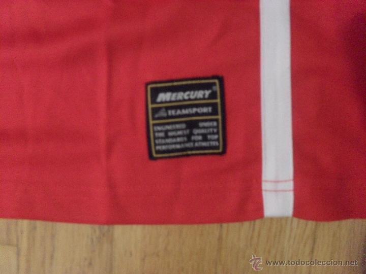 Coleccionismo deportivo: CAMISETA MERCURY , CLUB BASKET CASTELAR SANT LLORENC SAVALL CATEGORIA SENIOR CATALANA, XL NUEVA - Foto 2 - 49083870
