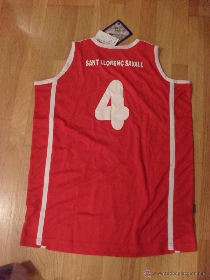 Coleccionismo deportivo: CAMISETA MERCURY , CLUB BASKET CASTELAR SANT LLORENC SAVALL CATEGORIA SENIOR CATALANA, XL NUEVA - Foto 3 - 49083870