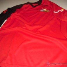 Coleccionismo deportivo: CAMISETA ROJA MANGA LARGA MINIBASKET CAMPEONATO DE ESPAÑA 2007 07 STAFF FEB TALLA M MARCA LI-NING. Lote 50329368