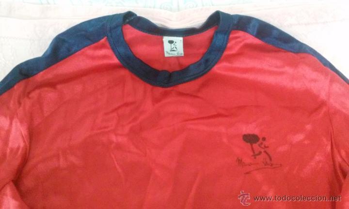 Coleccionismo deportivo: CAMISETA MARIANO HARO PRENDA DEPORTIVA VINTAGE AÑOS 80 - Foto 3 - 51594763