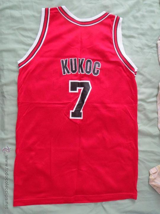 Coleccionismo Chicago Kukoc Numero Camiseta Deportivo Made 7 18 Bulls 20 Xl  In Champion wZSqw6ra 586ea9beda8