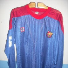 Coleccionismo deportivo: RARÍSIMA CAMISETA MEYBA HOCKEY HIELO DEL FC BARCELONA. Lote 53886055
