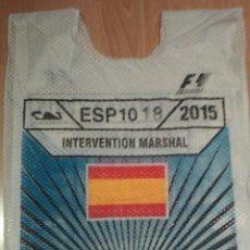Coleccionismo deportivo: PETO INTERVENTION MARSHAL DEL GP FORMULA 1 DE ESPAÑA 2015. Lote 54495265