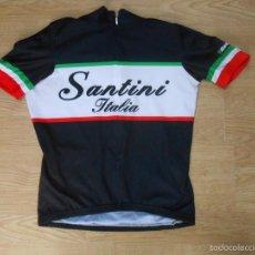 Coleccionismo deportivo: CAMISETA MAILLOT CICLISTA. SANTINI. ITALIA. TALLA S. CICLISMO. TDKDEP1. Lote 58477593