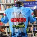 Coleccionismo deportivo: CAMISETA MAILLOT CICLISMO ORIGINAL BIEMME. BIANCHI EQUIPO GEWISS - PLAYBUS. TALLA XXL. TDKDEP4. Lote 56434805