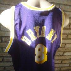 CAMISETA BASKET ORIGINAL CHAMPION NBA BALONCESTO TALLA XL JUGADOR KOBE BRYANT LAKERS