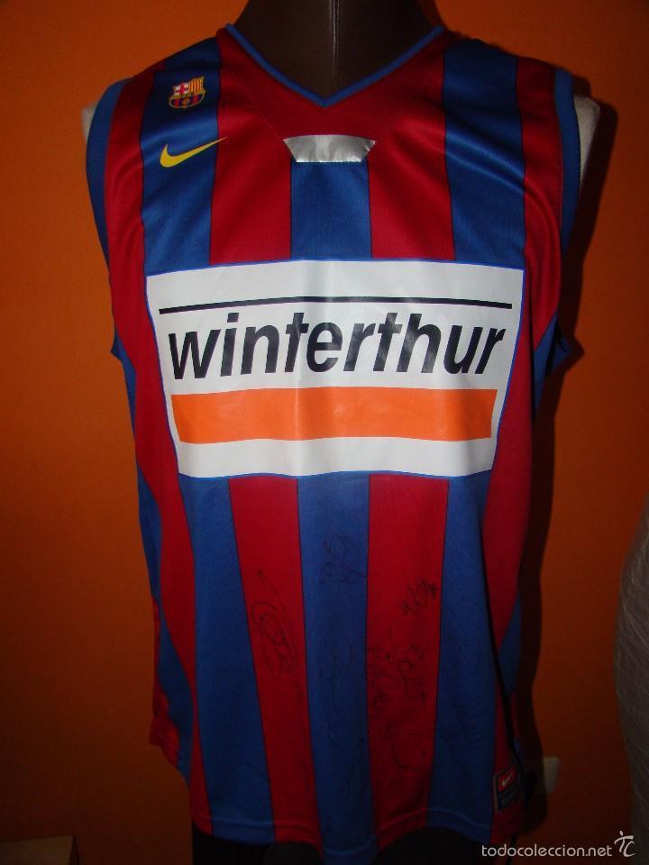 Antigua camiseta barcelona basket - autógrafos - Vendido en Venta ... da1d9ecbb32