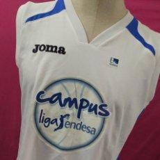 Coleccionismo deportivo: CAMISETA BALONCESTO BASKET ORIGINAL JOMA CAMPUS LIGA ENDESA CON FIRMAS AUTOGRAFOS DE JUGADORES. Lote 58493097