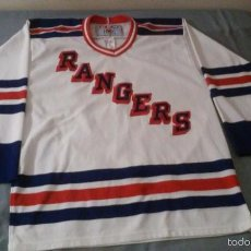 Coleccionismo deportivo: JERSEY RANGERS NEW YORK CCM-NHL HOCKEY SOBRE HIELO U.S.A.. Lote 58597699