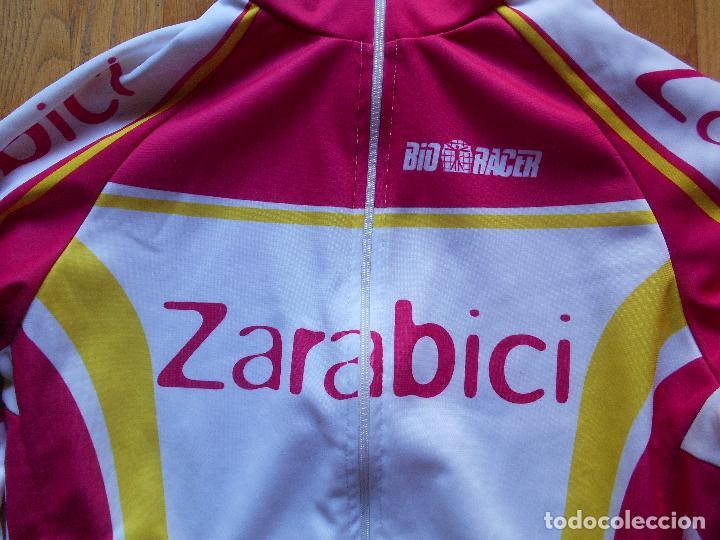 Coleccionismo deportivo: MAILLOT CICLISTA ZARABICI - Foto 2 - 61546296