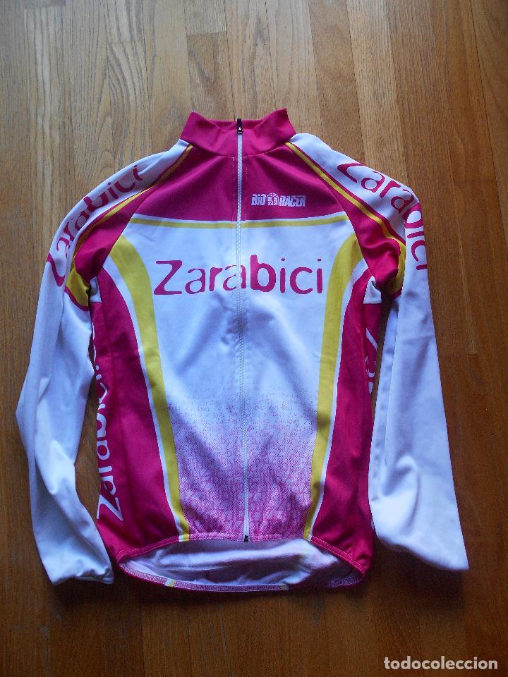 Coleccionismo deportivo: MAILLOT CICLISTA ZARABICI - Foto 4 - 61546296