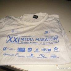 Coleccionismo deportivo: CAMISETA RUNNER CARRERA POPULAR XXI MEDIA MARATON CIUDAD DE JEREZ TALLA MEDIANA. Lote 62216632