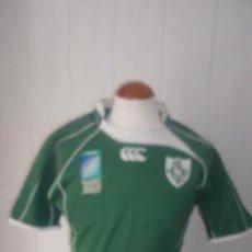 Coleccionismo deportivo: CAMISETA DE RUGBI IRLANDESA CAMPEONATO 2007. Lote 63373012