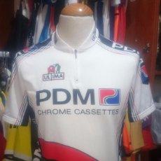 Coleccionismo deportivo: MAILLOT CICLISMO PDM ULTIMA CONCORDE 1987 VINTAGE PEDRO DELGADO. Lote 78253145