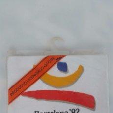 Coleccionismo deportivo: CAMISETA ORIGINAL Y OFICIAL OLIMPIADAS BARCELONA 92 - A ESTRENAR TALLA 6 AÑOS. Lote 80641958
