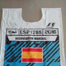 Coleccionismo deportivo: PETO MARSHALL GP F1 ESPAÑA 2016. Lote 58127123