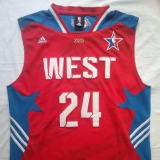 Coleccionismo deportivo: NBA ALL STAR CAMISETA ADIDAS WEST #24 KOBE BRYANT LAKERS AÑO 2013 . Lote 92374450