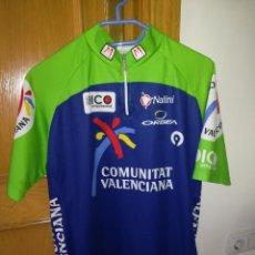 Coleccionismo deportivo: MAILLOT CICLISTA - COMUNITAT VALENCIANA - BUEN ESTADO - TALLA 5 - NALINI - MADE IN ITALY. Lote 204984860