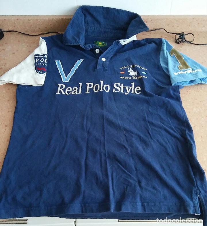 POLO REAL STYLE VARLION POLO TALLA S (Coleccionismo Deportivo - Ropa y Complementos - Camisetas otros Deportes)