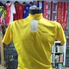 Coleccionismo deportivo: MAILLOT AMARILLO DE CICLISMO. TALLA M. TDKDEP5. Lote 96577287
