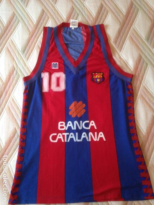 CAMISETA MEYBA BASKET xl - BASQUET FC BARCELONA AÑOS 80 WOOD ORIGINAL 9a8eee8e0f3