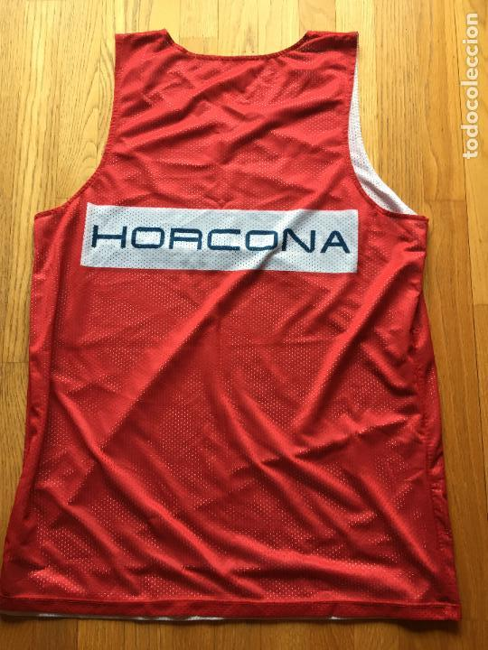 Coleccionismo deportivo: CAMISETA BALONCESTO CAI ZARAGOZA, DOBLE CARA - Foto 4 - 97473091