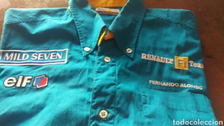 FERNANDO ALONSO.CAMISA TALLA MEDIANA (Coleccionismo Deportivo - Ropa y Complementos - Camisetas otros Deportes)