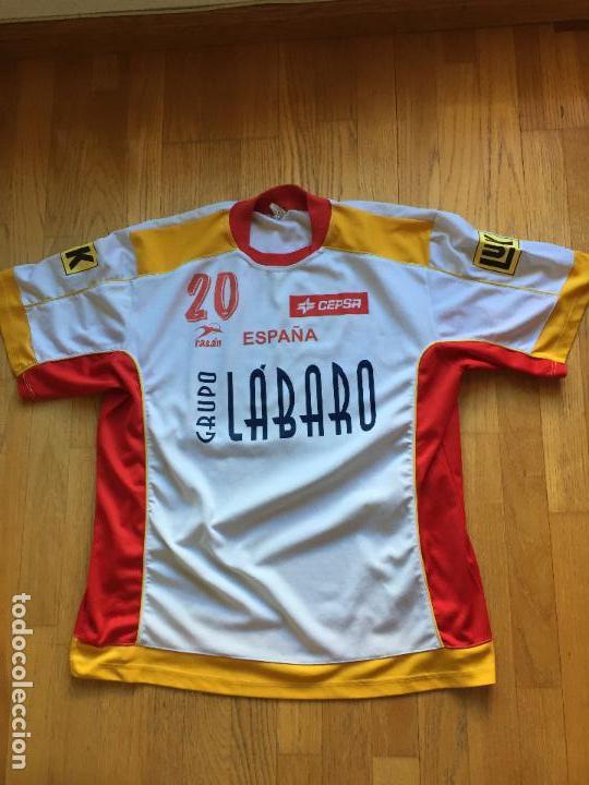 CAMISETA SELECCION ESPAÑA BALONMANO RASAN, ORIGINAL (Coleccionismo Deportivo - Ropa y Complementos - Camisetas otros Deportes)