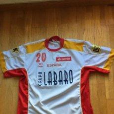 Coleccionismo deportivo: CAMISETA SELECCION ESPAÑA BALONMANO RASAN, ORIGINAL. Lote 99804551