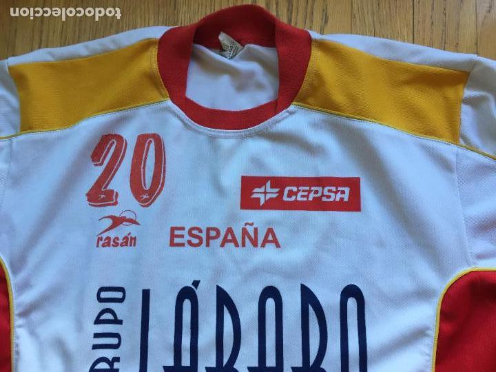 Coleccionismo deportivo: CAMISETA SELECCION ESPAÑA BALONMANO RASAN, ORIGINAL - Foto 12 - 99804551