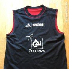 Coleccionismo deportivo: CAMISETA BALONCESTO CAI ZARAGOZA, DOBLE CARA , RARA. Lote 101417455