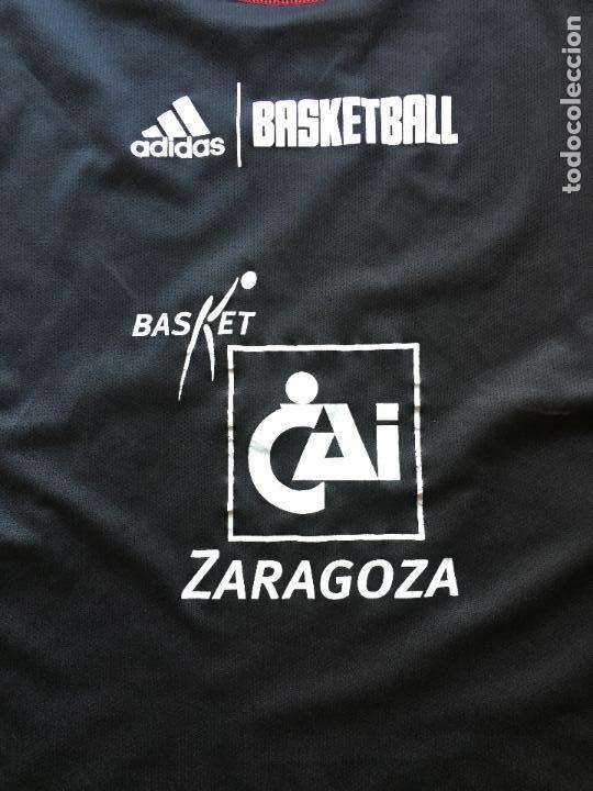 Coleccionismo deportivo: CAMISETA BALONCESTO CAI ZARAGOZA, DOBLE CARA , RARA - Foto 7 - 101417455