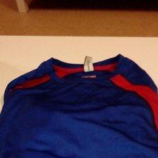 Coleccionismo deportivo: G-151217 CAMISETA TECNICA AZUL MANGA LARGA TALLA L BORIKEN. Lote 101491099