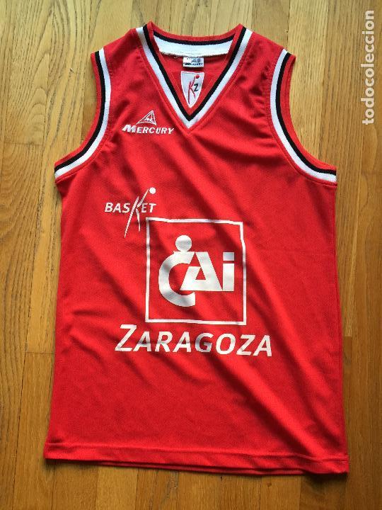 CAMISETA CAI ZARAGOZA MERCURY GIANMARCO POZZECCO, (Coleccionismo Deportivo - Ropa y Complementos - Camisetas otros Deportes)
