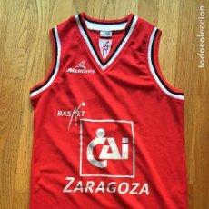 Coleccionismo deportivo: CAMISETA CAI ZARAGOZA MERCURY GIANMARCO POZZECCO,. Lote 101915399