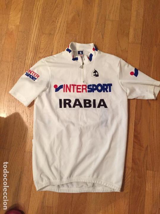 MAILLOT CICLISTA ETXE ONDO INTERSPORT IRABIA (Coleccionismo Deportivo - Ropa y Complementos - Camisetas otros Deportes)